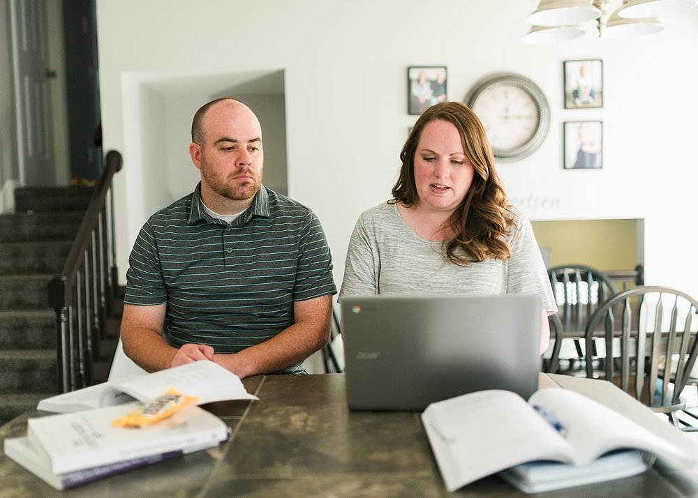 support your spouse through college