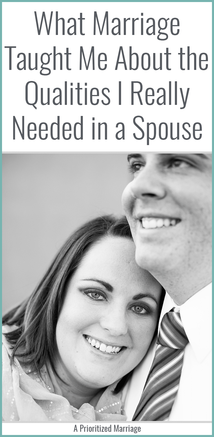 "Your ""ideal spouse"" list might be missing some important qualities."