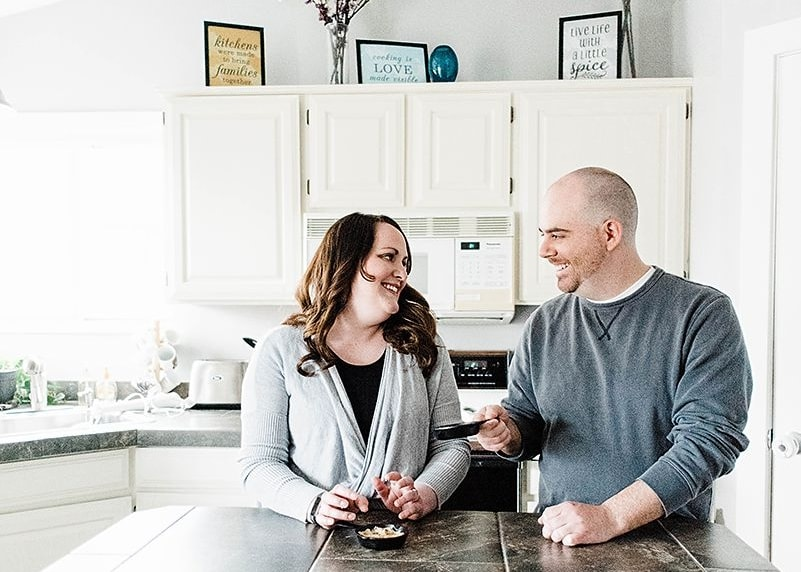 make at home date nights a positive thing for your marriage.