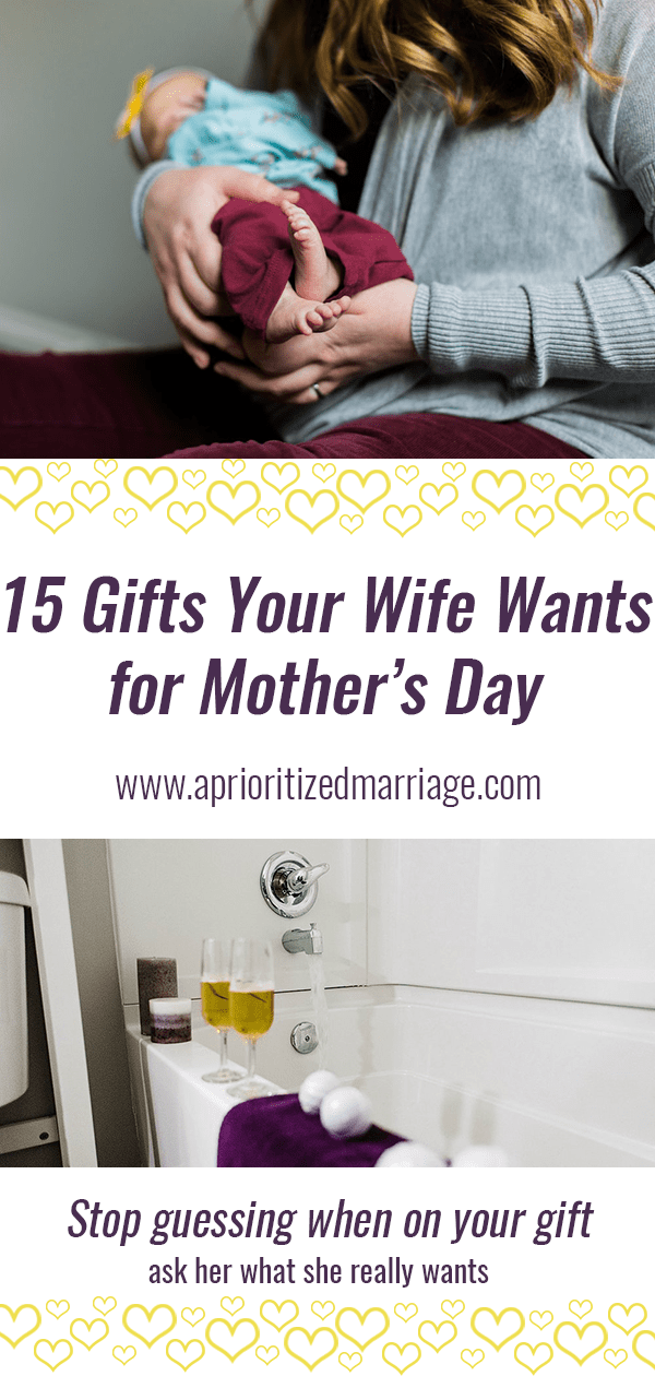 15 gifts your wife really wants for mother's day