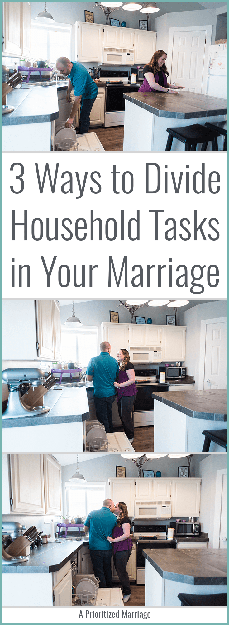 Household responsibilities can become a dividing factor for couples. Here are three ways you can tackle chores together and strengthen your marriage instead.