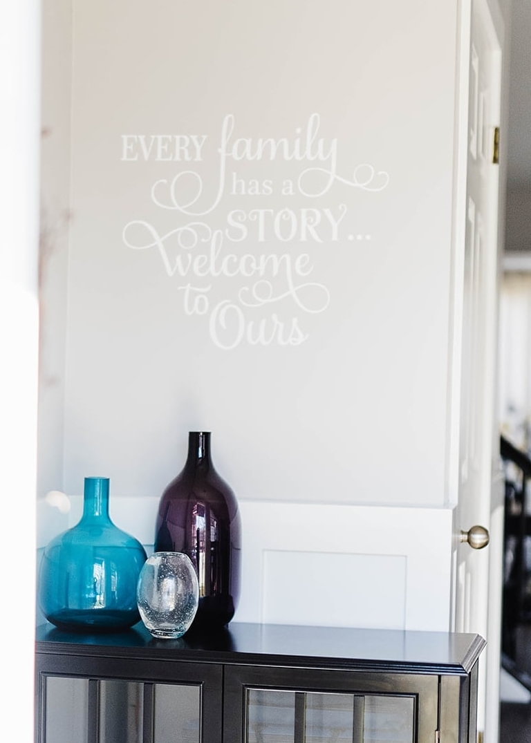 entryway quote