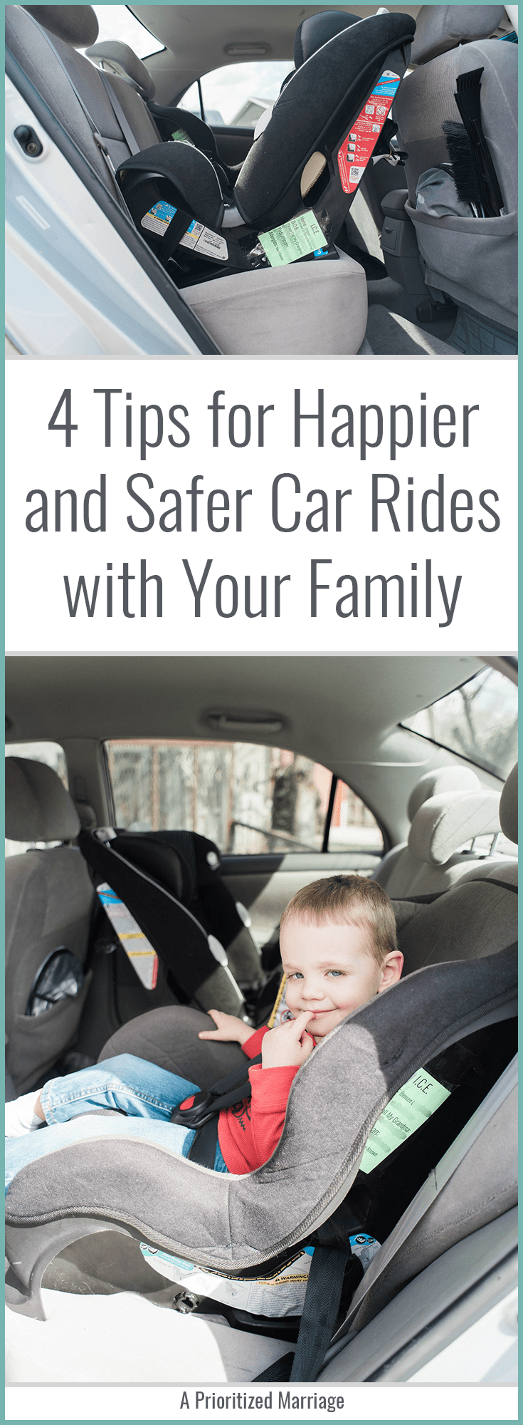 With a little preparation, you will have peace of mind on any car ride with your family.