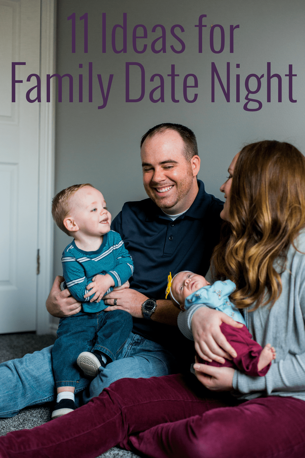 Family date night is just as important as date night is for your marriage. Have fun as a family this week with these fun ideas!