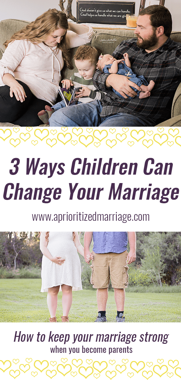 How becoming parents will change your marriage