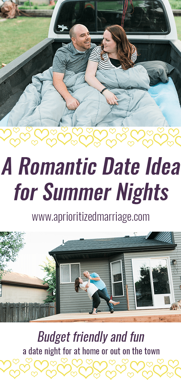 A romantic, budget friendly date idea for summer