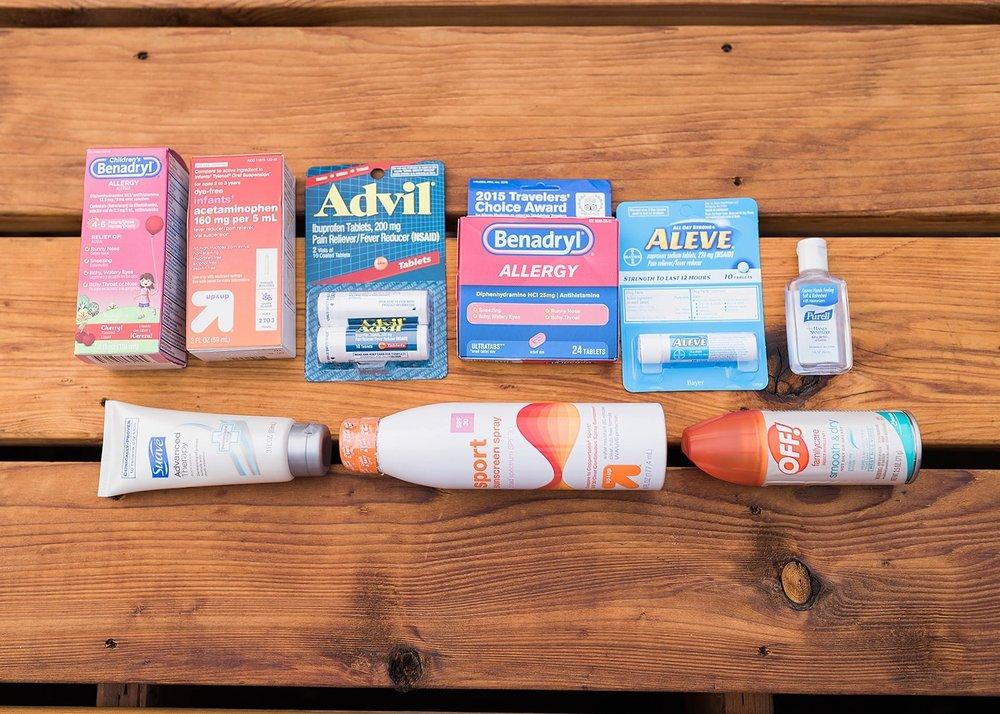 medicine for 72 hour kits