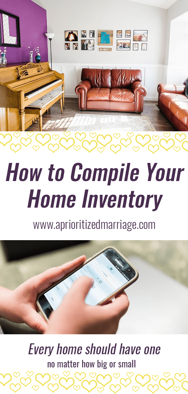 why you need a home inventory and how to quickly and easily create one