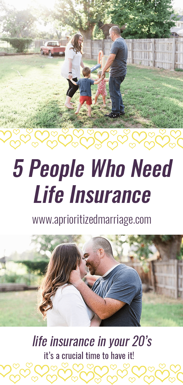 Life insurance isn't just for people who are older and established in life. Individuals and couples in their 20's and 30's actually need it more. Here's why.
