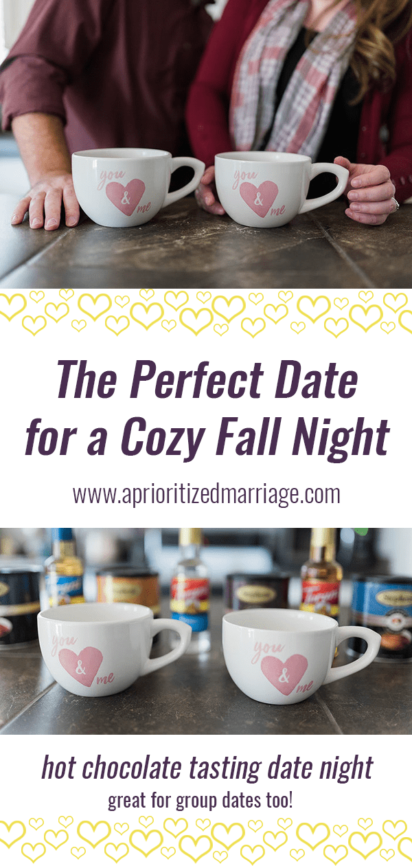 Fun fall or winter date idea for fun with a group or a cozy night at home