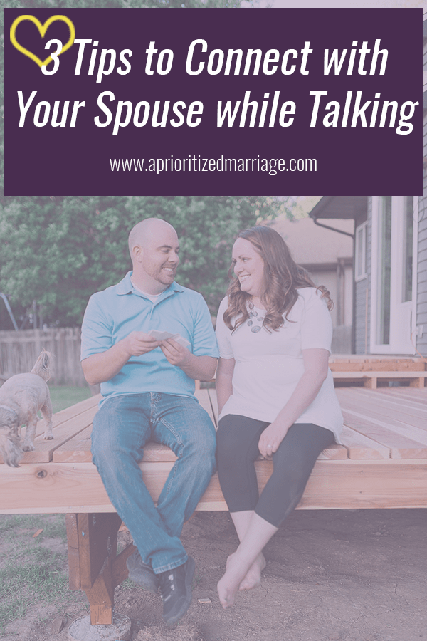 Have more quality conversation in your marriage with these tips!