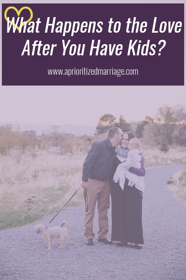 What happens to the love in your marriage after you become parents?