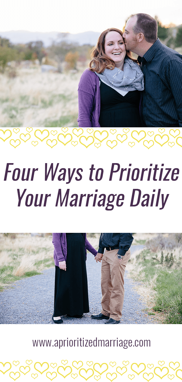 Do something for your marriage every single day!