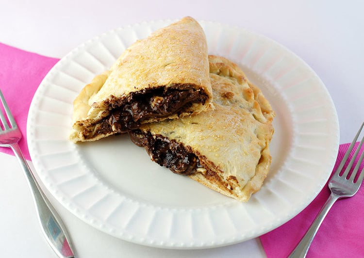 Chocolate Chip Calzone