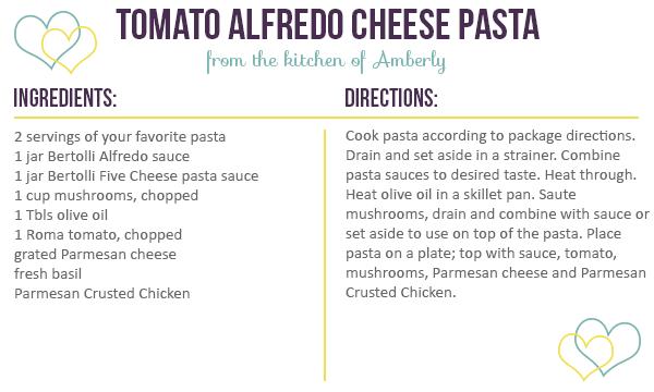 Tomato Alfredo Cheese Pasta Recipe