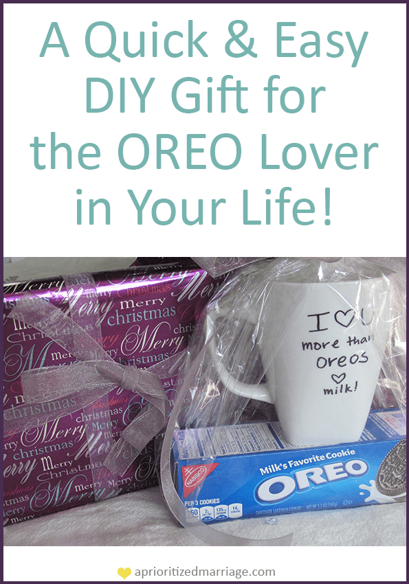 Christmas gift ideas using oreos