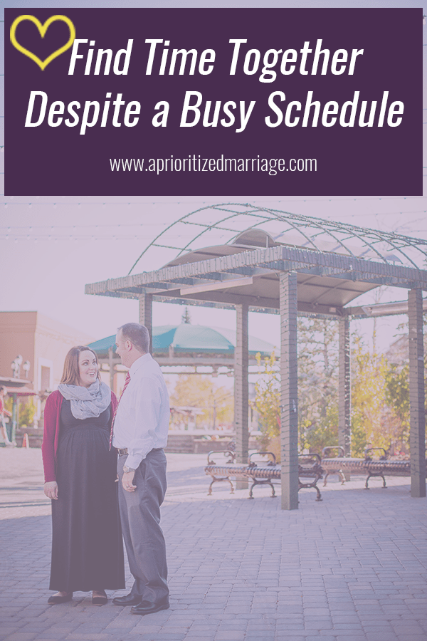 How to find time to spend with your spouse despite your busy schedule