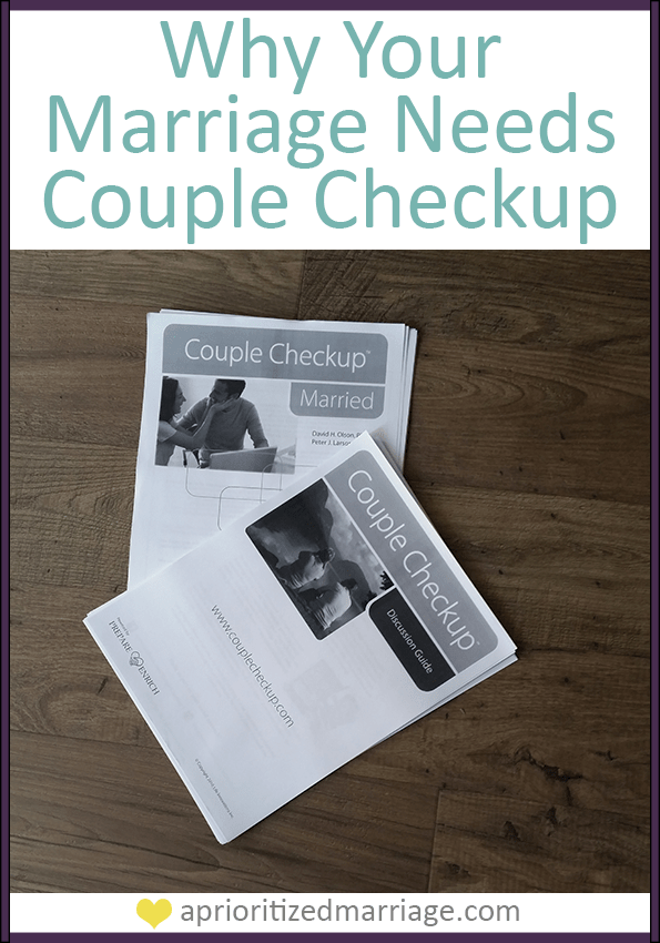why your marriage needs couple checkup
