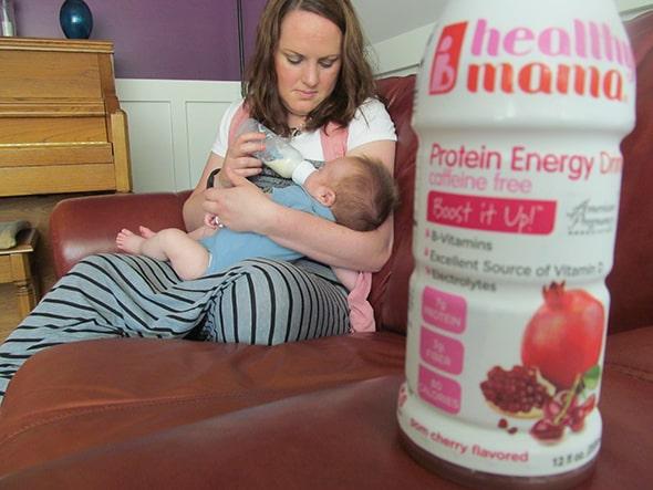 healthy mom habits