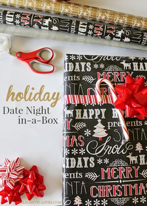 A fun at home holiday date night for married couples