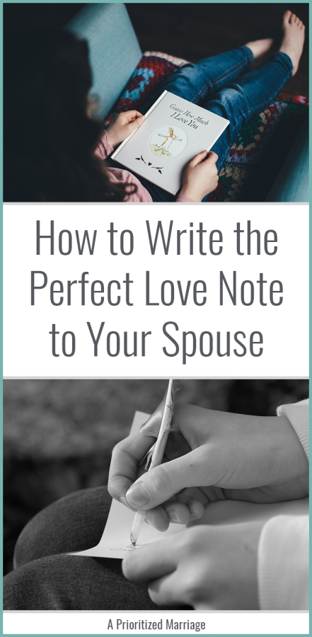 How to write a meaningful love letter for your spouse.