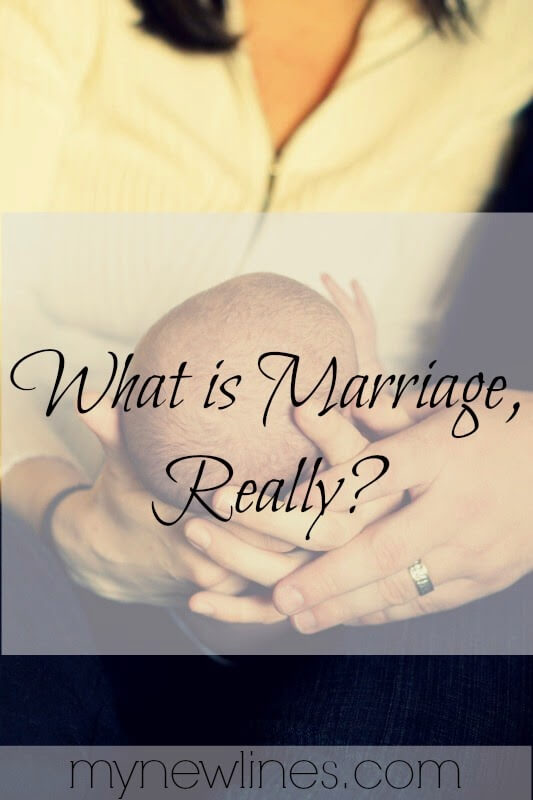 Marriage is more than the fairy tale