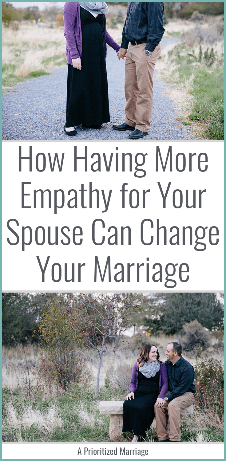 Have you ever wondered what your spouse was thinking when they said or did something? Have you ever stopped to think about what they actually might have been thinking? Have more empathy in your marriage!