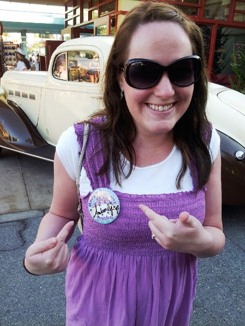 Disneyland birthday button