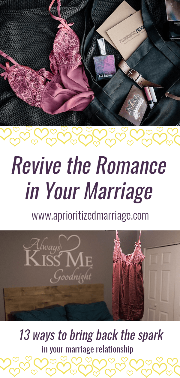 Is your marriage getting stale? Bring the romance back to your relationship with these 13 tips!