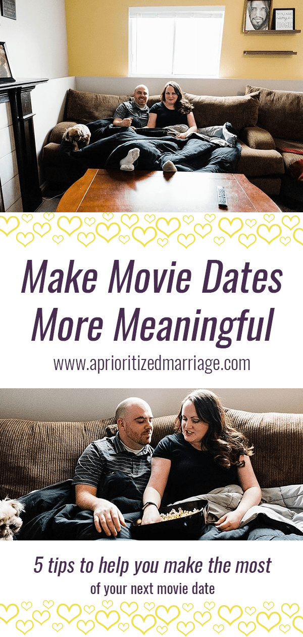 5 tips to help you connect and enjoy your next movie date night more fully.