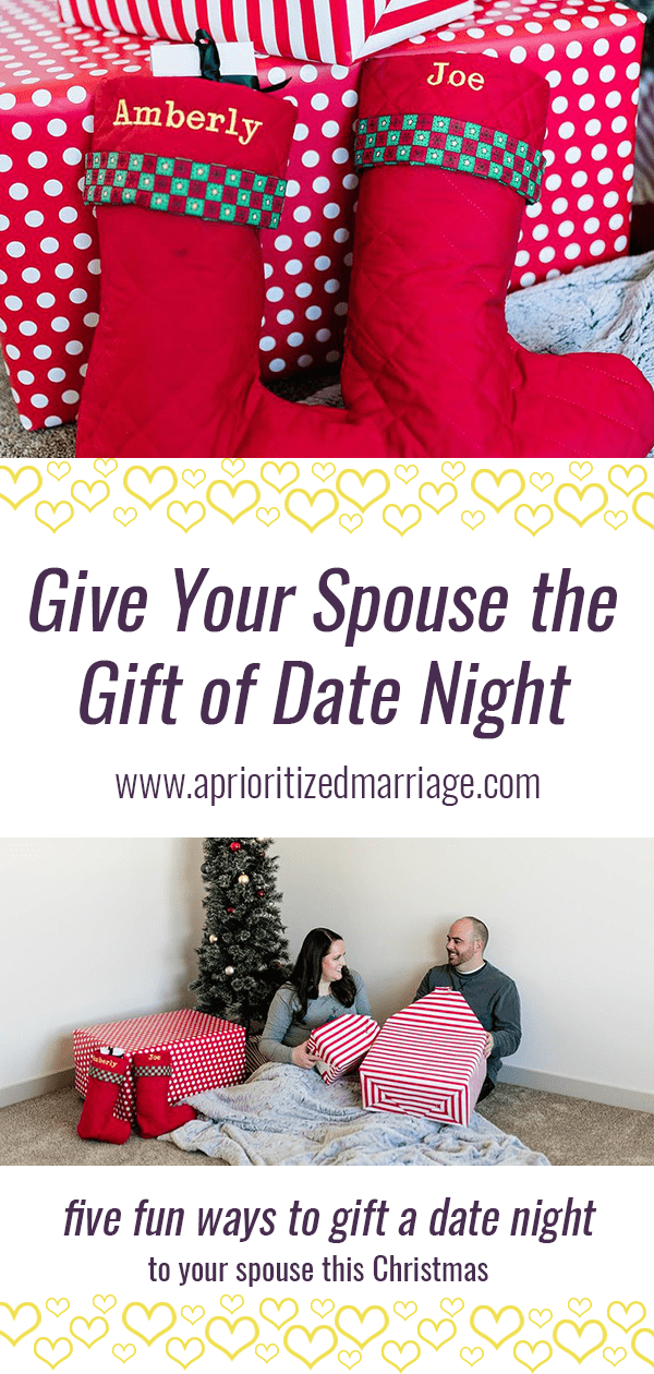 The gift of date night is something you can gift to that person who has everything!