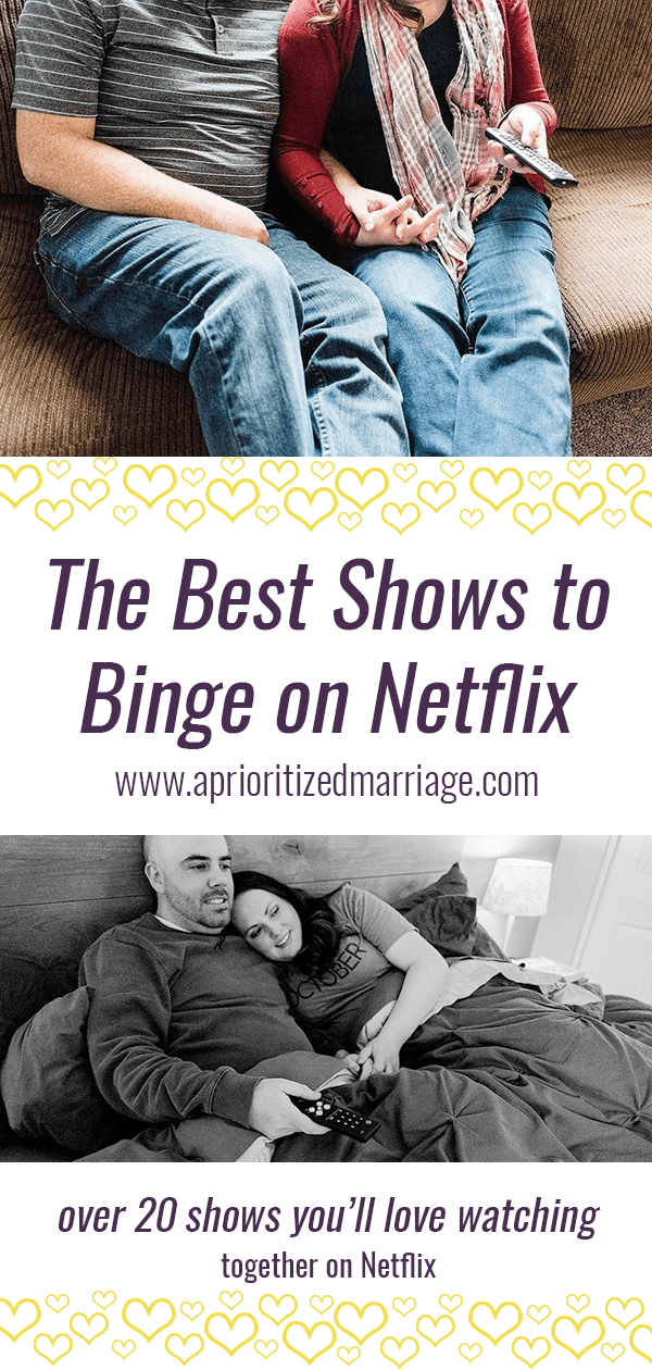 The best shows to binge watch together on Netflix right now.