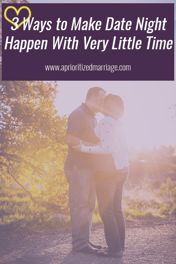Opposite work schedules, homework and school classes, kids, etc. can all get in the way of date night. If you're determined to go on more dates with your spouse, you can make it happen.