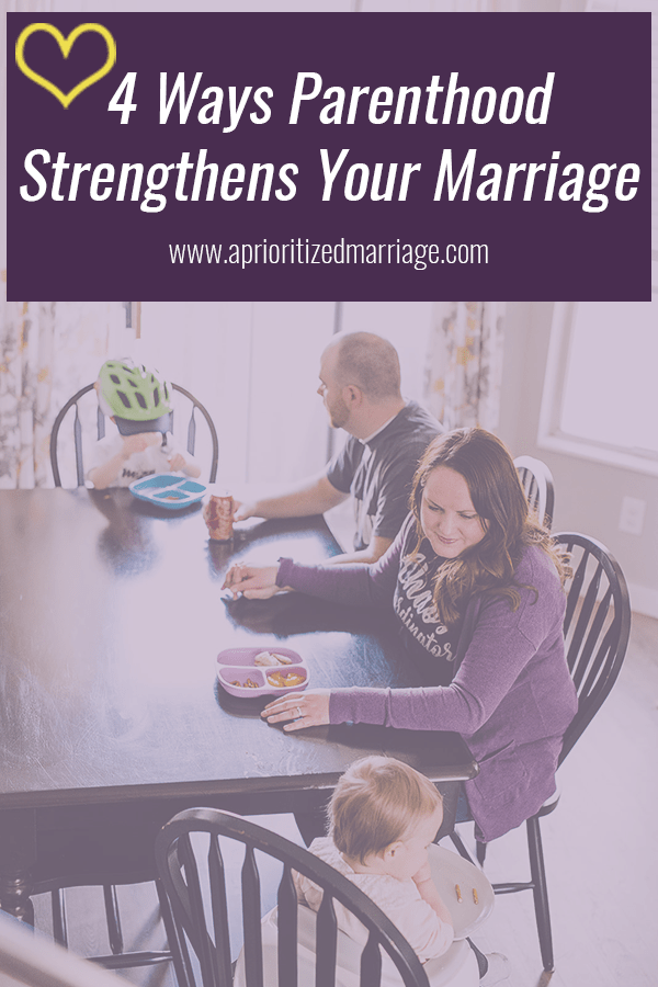 Becoming parents comes with lots of challenges, but these four things that come with parenthood could actually strengthen your marriage in this stage of life.