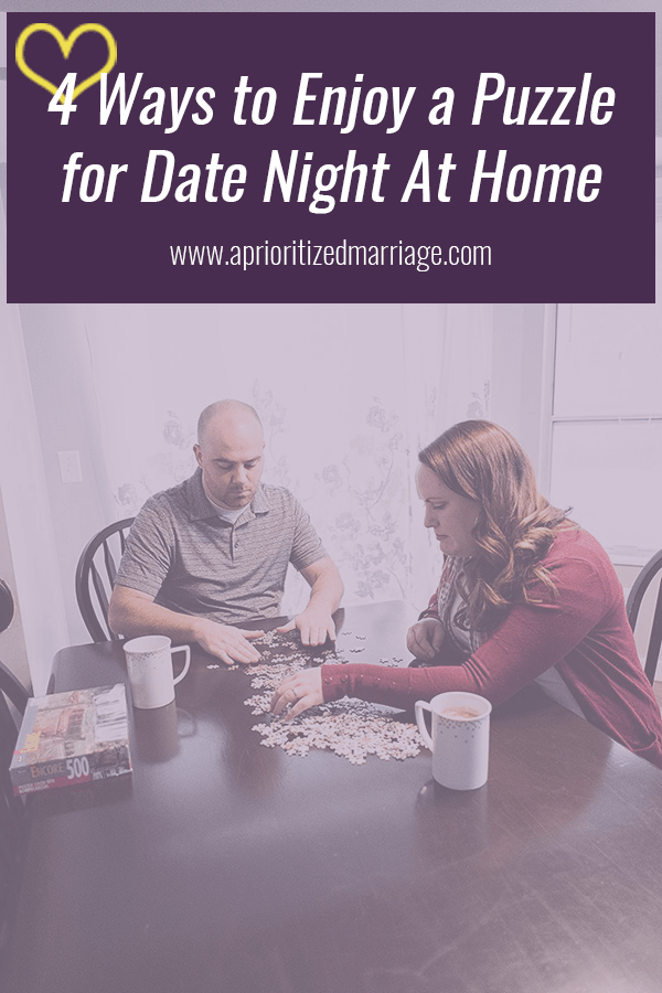 Fun cold weather date night idea! This could be a great way to get quality time together at the end of every day.