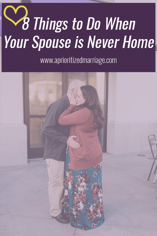 When your spouse works long hours or a schedule opposite yours, it might feel like you never get to see each other. Here are a few things you can do to save your marriage and your sanity.