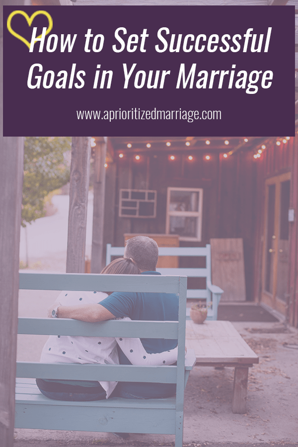 The key to success with goals in your marriage is to make sure that both of you care about it and are committed to following through until you've completed what you set out to achieve! Check out these three tips to help you set great goals in your marriage.