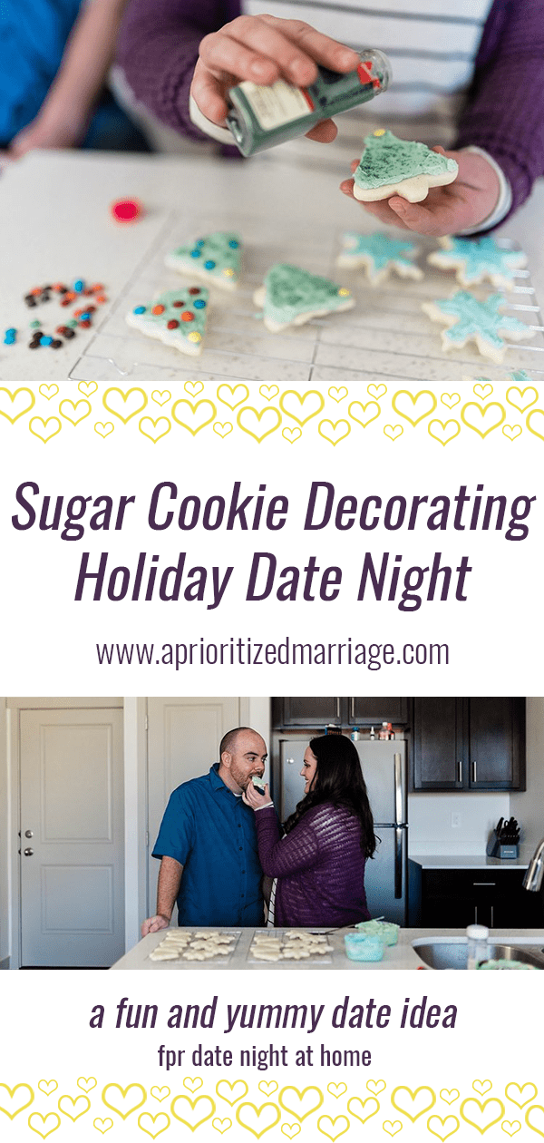 A fun and delicious holiday tradition date night for couples to enjoy together.