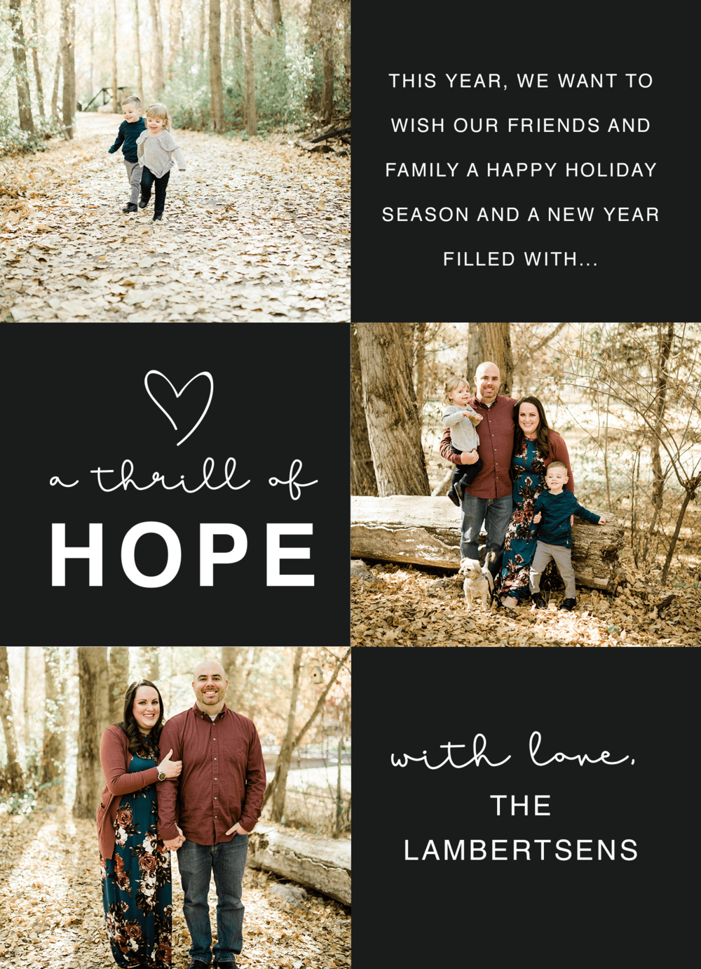 Christmas Card 2019 Prioritized Marriage