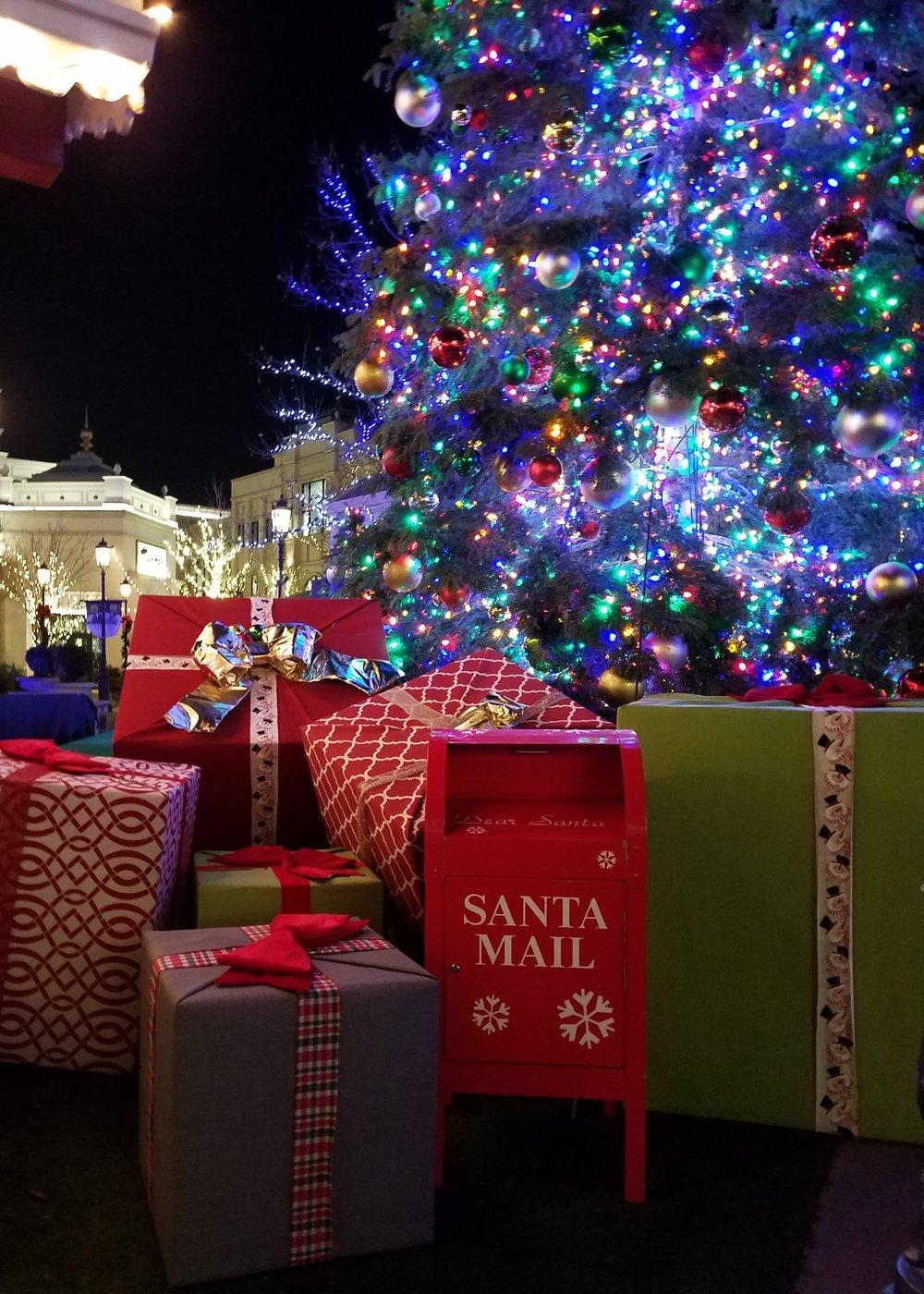 Christmas lights drive