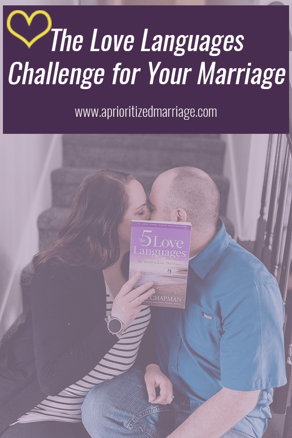The love language challenge that will change your marriage!