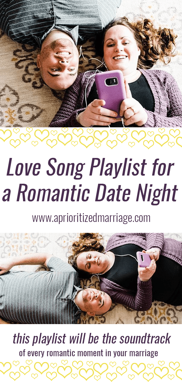 The perfect playlist for any romantic moment in your marriage.