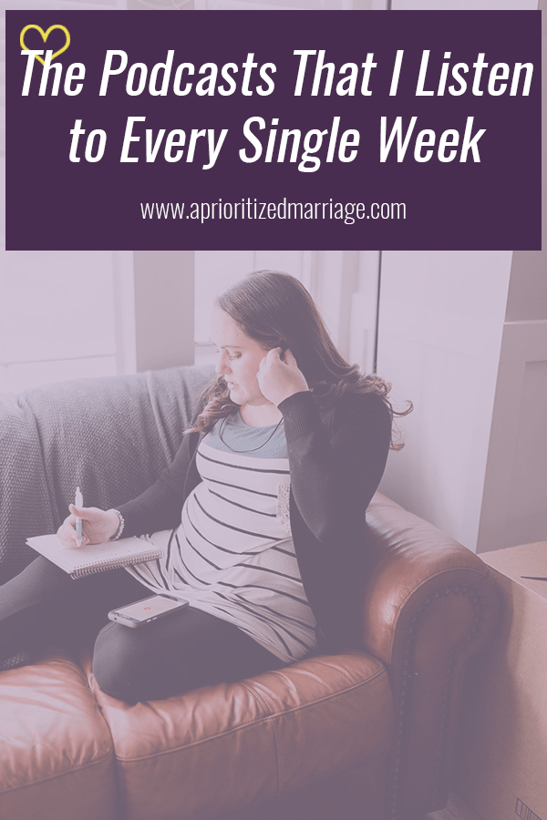 I have never missed a single episode of these podcasts because I love them so much! #selfcare #podcasts #marriage
