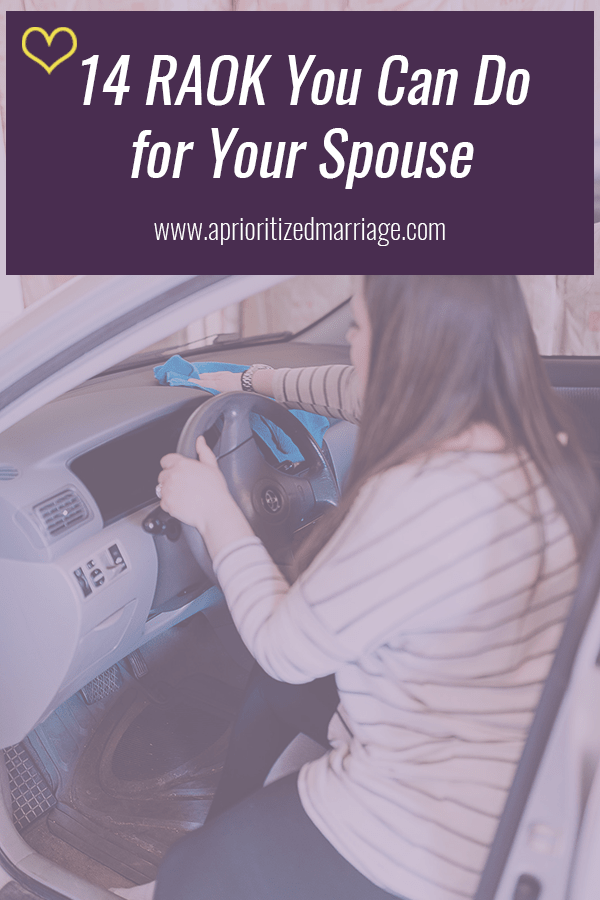 14 ways to serve your spouse.