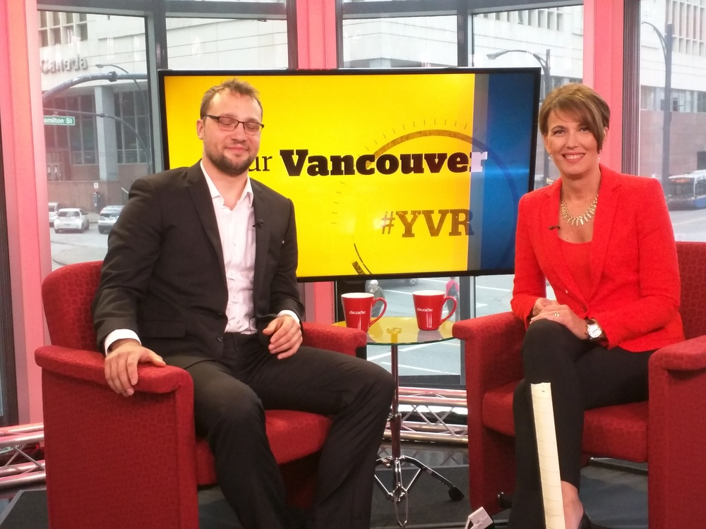 CBC Our Vancouver with  Gloria Macarenko