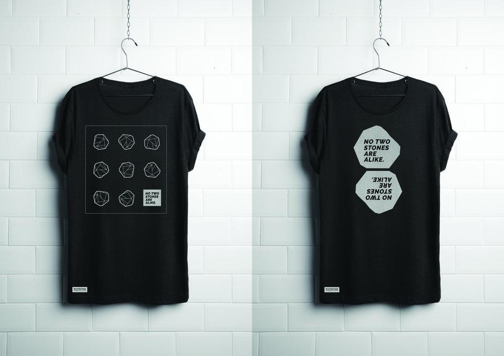 WHITESTONE BRANDING OKAYLEN - Property of t shirt template