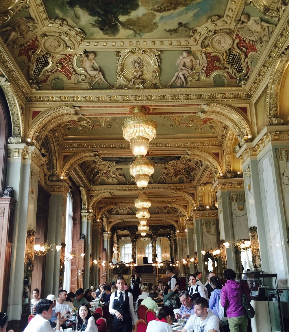 The New York Cafe in Budapest