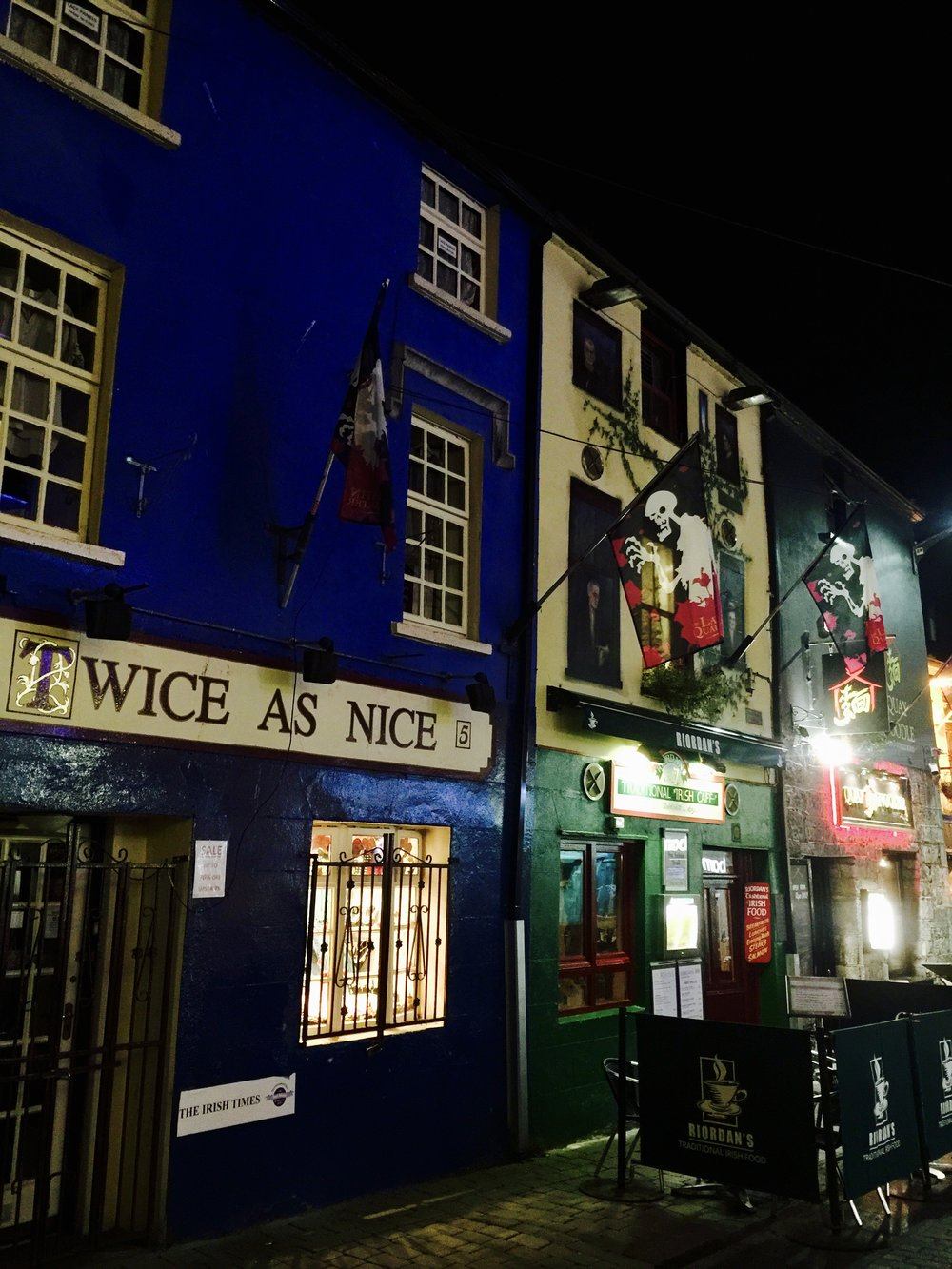 Quay Street in Galway Ireland