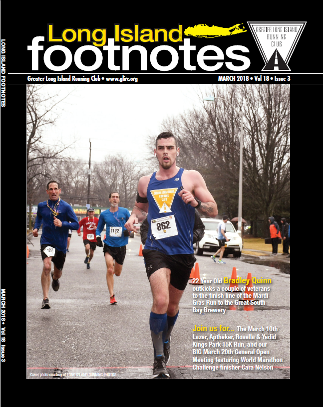 March 2018  Long Island Footnotes  issue