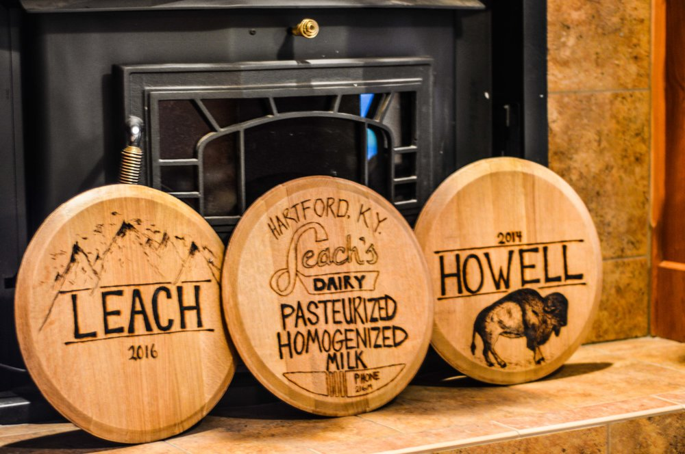 Whiskey Barrel Tops   from    $125